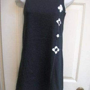 Deux par deux Black Jersey dress Girl Size 16